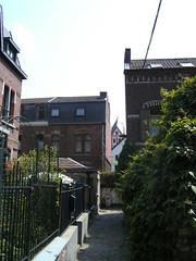 Impasse de la Vignette (Rumskedi) Tags: viacrucis monde europa europe rollei belgi belgique belgien lige lige22042011