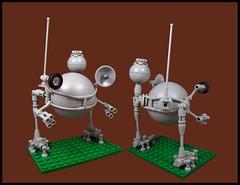 Ma.K Peace (Karf Oohlu) Tags: lego moc walker mak droid mecha ball
