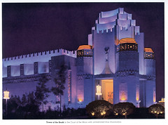 Magic in the Night (jericl cat) Tags: magic inthe night sanfrancisco bay exposition 1940 souvenir lighting exterior guide guidebook memorabilia artdeco architecture building fair expo goldengate international treasureisland 1939 world worlds history