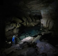 Tapeats Cave - Grand Canyon (Bruce Lemons) Tags: arizona loop hiking mark grandcanyon az hike coloradoriver april cave caving deercreek 2014 thunderriver billhalltrail tapeatscreek tapeatscave