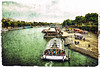 Good Old PARIS... #5 (ACIDIRK) Tags: travel paris france seine port boats boat nikon frankreich europe sightseeing freehand hafen d80 tokina111628
