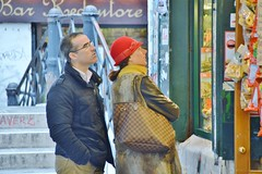 2014-11-28  Venise - Campiello de la Feltrina (P.K. - Paris) Tags: street venice people veneza candid sidewalk venise venecia venezia venedig 2014 威尼斯 venetië 베니스 venexia венеция البندقية ונציהונציה