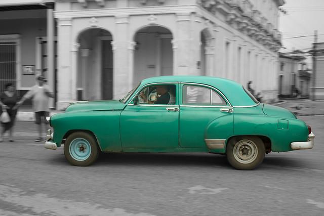 Voiture ancienne / Vintage car - Cuba