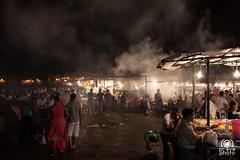 Piazza Jamaa el Fna (andrea.prave) Tags: light people luz night square place market nacht lumire morocco maroc marocco marrakech marrakesh piazza markt mercato notte luce   jamaaelfna    almamlaka     visitmorocco almaghribiyya  jmielfn tourdelmarocco