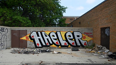 Haeler (piecesofdetroit) Tags: street streetart art graffiti detroit friday graffitiart motorcity graffitiwriters detroitgraffiti germanfriday piecesofdetroit
