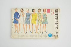 Vintage Butterick 5155 - 1960's Ladies Dress Sewing Pattern (DarlingTimes) Tags: above ladies woman girl fashion century vintage clothing mod women 60s pattern dress sewing 14 shift retro line size bust short 1960s etsy knee 36 mid aline garment sheath butterick 5155