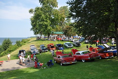 Car Show Vista (352Digz) Tags: show new york lake ny ontario classic beach car nikon north shore 25th nikkor olcott 2014 d5000