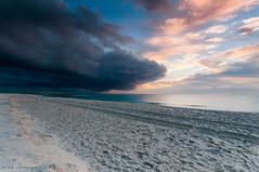 Halloween sunrise (RyanJohnson1) Tags: ocean sky halloween clouds sunrise canon landscapes newjersey nikon photos lbi photograph cloudporn eastcoast skyporn