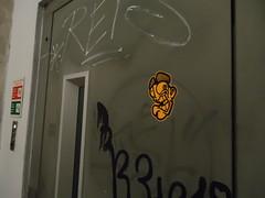 Lx factory open day 2014 (.Trauma .) Tags: portugal graffiti stickers trade trauma t2 troca autocolantes