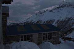 Sunset at Shree Kharka 4080m, Nepal (phhesse) Tags: schnee nepal oktober snow trekking snowstorm olympus circuit rund annapurna omd schneesturm 2014 em10 bilzzard