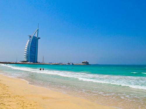 ocean blue sea sky beach strand meer dubai picture himmel bild ozean