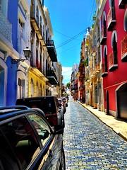 Old town in San Juan.