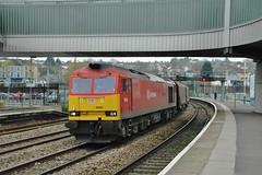 60024 at Newport. 4/12/14 (Nick Wilcock) Tags: wales steel newport railways dbs margam clitheroecastle class60 60024 dbschenker deemarsh 6m86