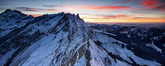 White Christmas (Tobias Knoch) Tags: schnee sunset panorama snow mountains alps canon schweiz switzerland sony shift 24mm blau alpha tilt sonneuntergang tse appenzell alpstein a7r schfler hitech0 innerhoden shiftpanorama 9segitzo2542losnovoflexcb3ii2