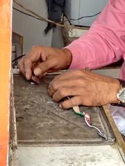 2014-11-06 11.44.44 (felipefonseca) Tags: trip junk tires fieldtrip lixo qatar craftsmen gambiarra vcuq repairmen mfavcuq