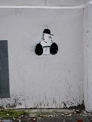 HH-Stencil 799 (cmdpirx) Tags: street urban color colour art public cutout painting fun one graffiti stencil nikon paint artist 7100 d space raum kunst strasse hamburg humor can spray crew layer multiple hh aerosol farbe schablone öffentlicher kuenstler