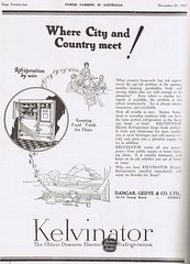 Kelvinator 1927 (Runabout63) Tags: machinery advert kelvinator refrigeration