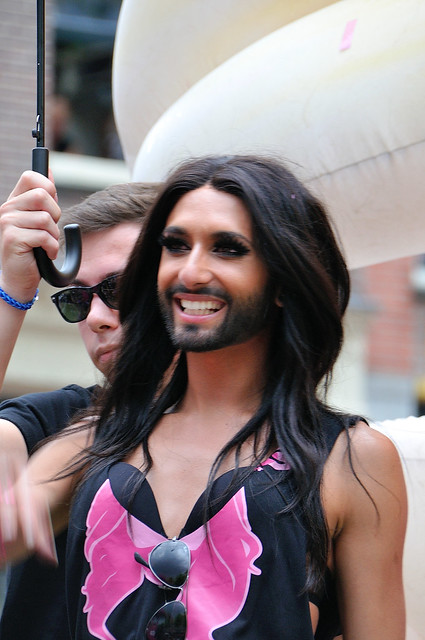 Gay parade Amsterdam 2014, Gay Care, Conchita