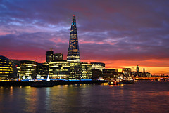 London Sunset @ Shard