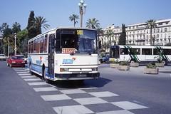 JHM-1992-0119 - France, Nice, autocar Renault (jhm0284) Tags: france nice 06nice niceam alpesmaritimes