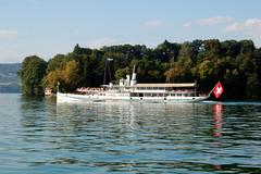 Gersau, Lake Luzern, DS Uri 12 September 2007 (BaggieWeave) Tags: lake switzerland ship swiss luzern lucerne steamer lakeluzern lakelucerne paddlesteamer vierwaldstattersee swisslake swisslakes