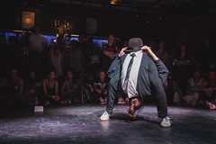 The Notorious IBE 2014 (_Munir Werner) Tags: blue red canon dance funny experimental battle move suit breakdance 1835 2014 notorious ibe 600d