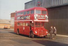 RM 292 - VLT292 . Bexleyheath Garage , April 1982. (busmothy) Tags:
