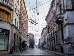 the web (august_brain) Tags: street old city travel winter urban italy building shoot mood centre lombardia cremona