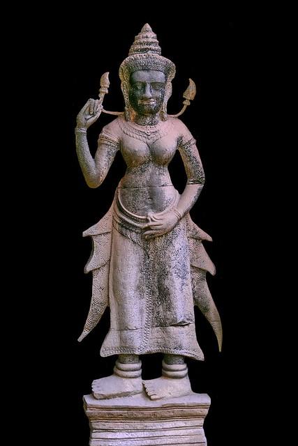 Cambodia - Ta Prohm Temple - Devata - 11b