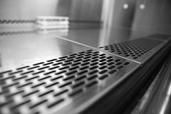 Lab 18-1-15 14 b+W (Mac Spud) Tags: london lab science research laboratory tissueculturehood