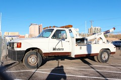 Western Cab Co. (So Cal Metro) Tags: vegas ford truck lasvegas cab taxi western towtruck taxicab f350 wrecker fseries westerncab westerncabco