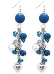 Glimpse of Malibu Blue Earrings P5712-2