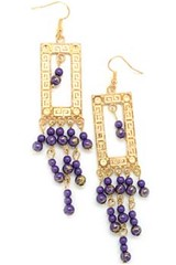 Glimpse of Malibu Purple Earrings P5420-4