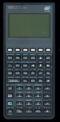my HP-48G graphing calculator (Merkwrdiglieben) Tags: calculator graphing hewlettpackard hp48g hp15c