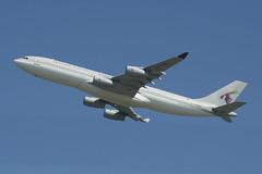 A7-HHK  Qatar Airways Government  A340-200 at LHK (ralphpopken) Tags: london nikon heathrow 200 airbus qatar 340 a7hhk lhk d3300