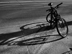 Bike-ism 2 (geowelch) Tags: bicycle urbanfragments dundasstwest olympus17mmf28 olympusepl5