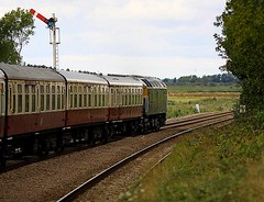 ECS Great Yarmouth to Norwich at Reedham (Chris Baines) Tags: point great norfolk norwich crown yarmouth ecs reedham 47843