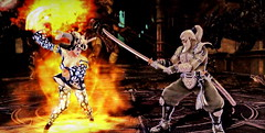 Battle_Selena vs Edge Master(test) in Soulcalibur V8192 (Cliffather) Tags: videogame selena namco soulcalibur fightinggame ps3game