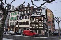 Strasbourg, France-2 (Oleg Doudelzak) Tags: winter people france landscape nikon view strasbourg oldtown chanal nikond90