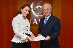Alicia Buenrostro Massieu (01410752) (IAEA Imagebank) Tags: mexico diplomacy protocol credentialsambassador aliciaguadalupebuenrostromassieu