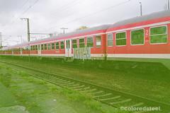 imm001_1A (coloredsteel) Tags: train canon graffiti ae1 steel kunst 400 program colored bombing ulm spotting rossmann trainwriting