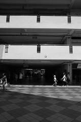 IMG_1677 (jumppoint5) Tags: street city light people urban blackandwhite building contrast shadows estate shape hdb rochor