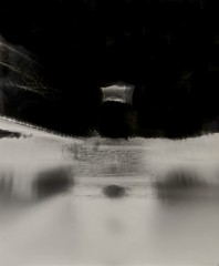 Alexandra Bridge / Central Otago / NZ (Matthew McCutcheon) Tags: matthew mccutcheon matt movement lc29 landscape largeformat pinhole pinholecamera papernegative paperneg nz newzealand blackandwhite bw blackwhite agfa otago centralotago southisland bridge architecture aperture negativeimage microclicks recordrapid nd4 grade2