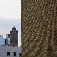 Water Tower in Trelleborg (58m) from 1912 (brandsvig) Tags: summer june architecture skne sweden bricks watertower sverige 1912 sommar tegel trelleborg 2016 vattentorn ivartengbom tengbom sony6000
