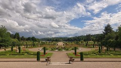 Italian Gardens - June (jeannie debs) Tags: park flowers trees sky lake gardens clouds landscape italian filter cloudscape nd8 sonyrx100m3