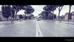 Gloomy day in Rome - Via dei Fori Imperiali