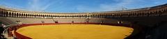 Panorama. Plaza de Toros de la Real Maestranza. #Seville #heyho2014 #nofilter (KatieTT) Tags: seville nofilter heyho2014