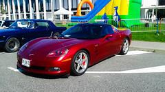 Corvette edited (xwattez) Tags: auto france chevrolet car paul automobile university universit voiture american transports toulouse corvette 2014 sabatier vhicule ls2 rassemblement amricaine mcacur