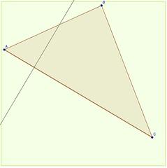 Construire une hauteur 3 (luccomeaumontasse) Tags: triangle hauteur construire geogebra