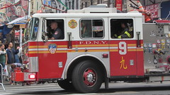 FDNY Engine 9 (Ville Pipeman) Tags: nyc truck fire chinatown engine fdny firefighters nyfd